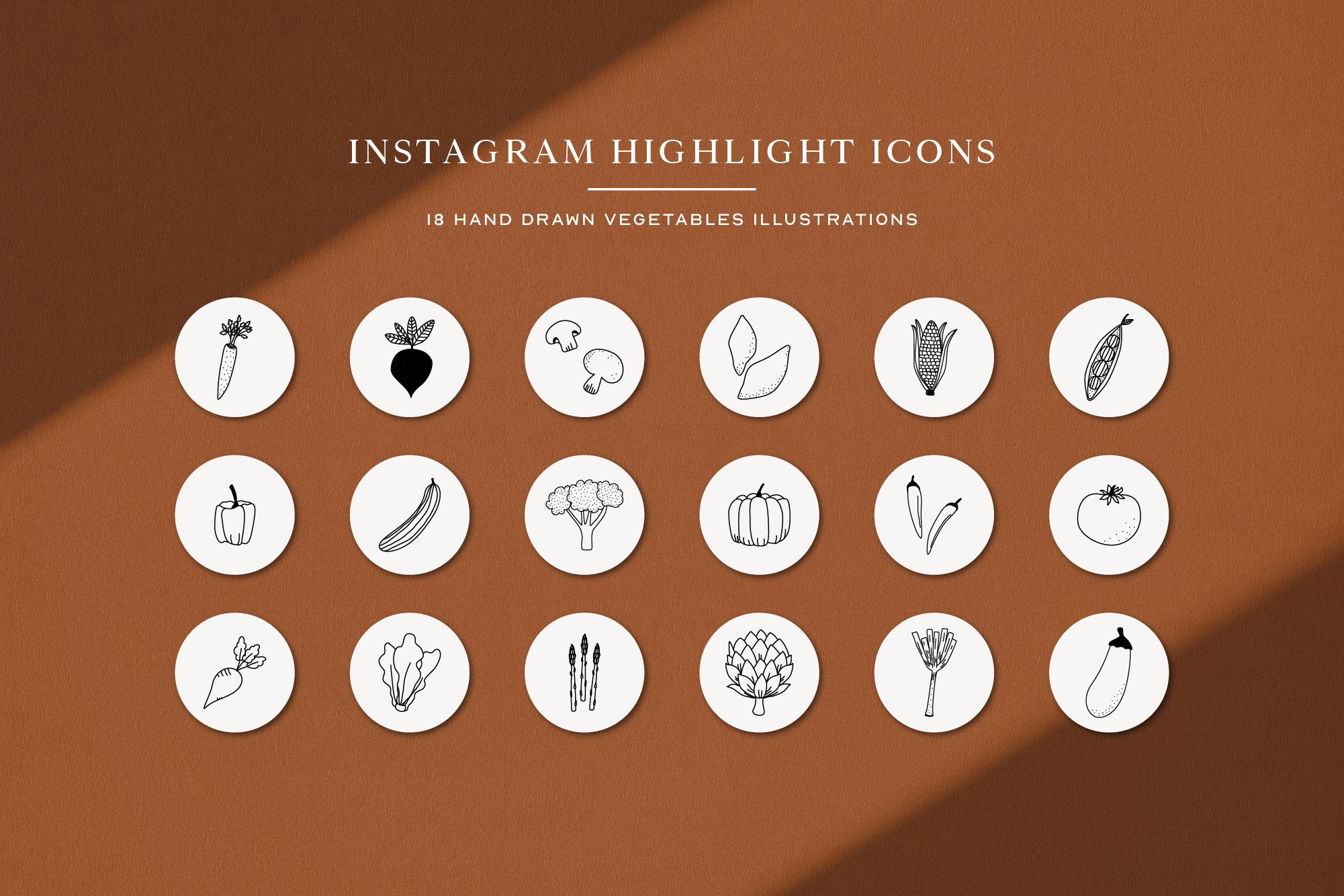 Instagram Vegetables Highlights Icons | Instagram Story Cove example image 2