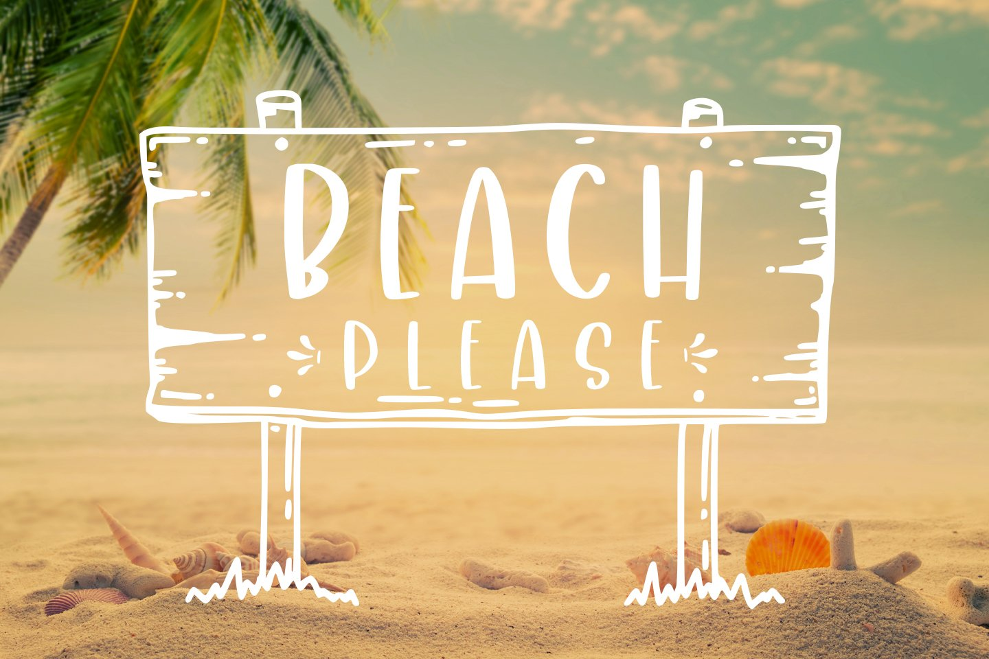 Crafty Beach -extra summer clipart- example image 4