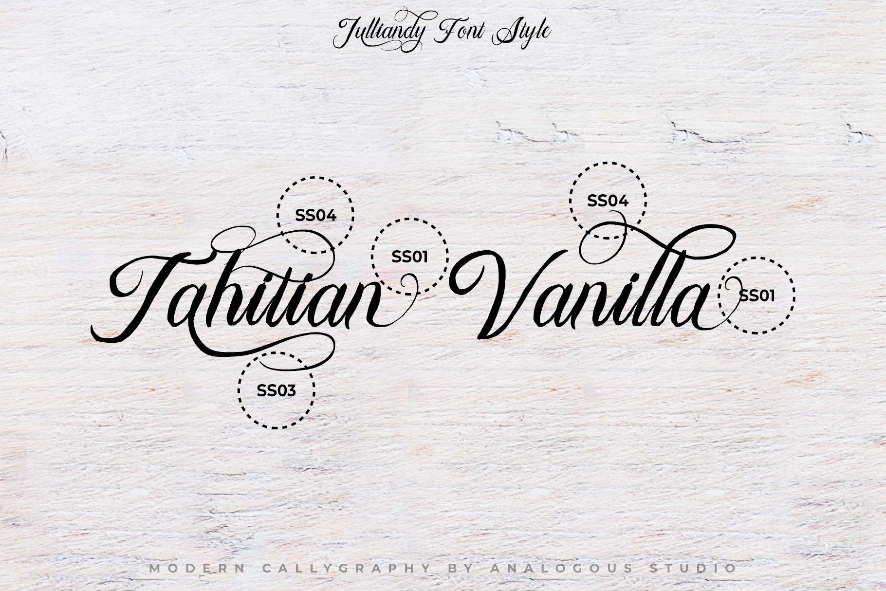 Bulliandry | Modern Calligraphy example image 12