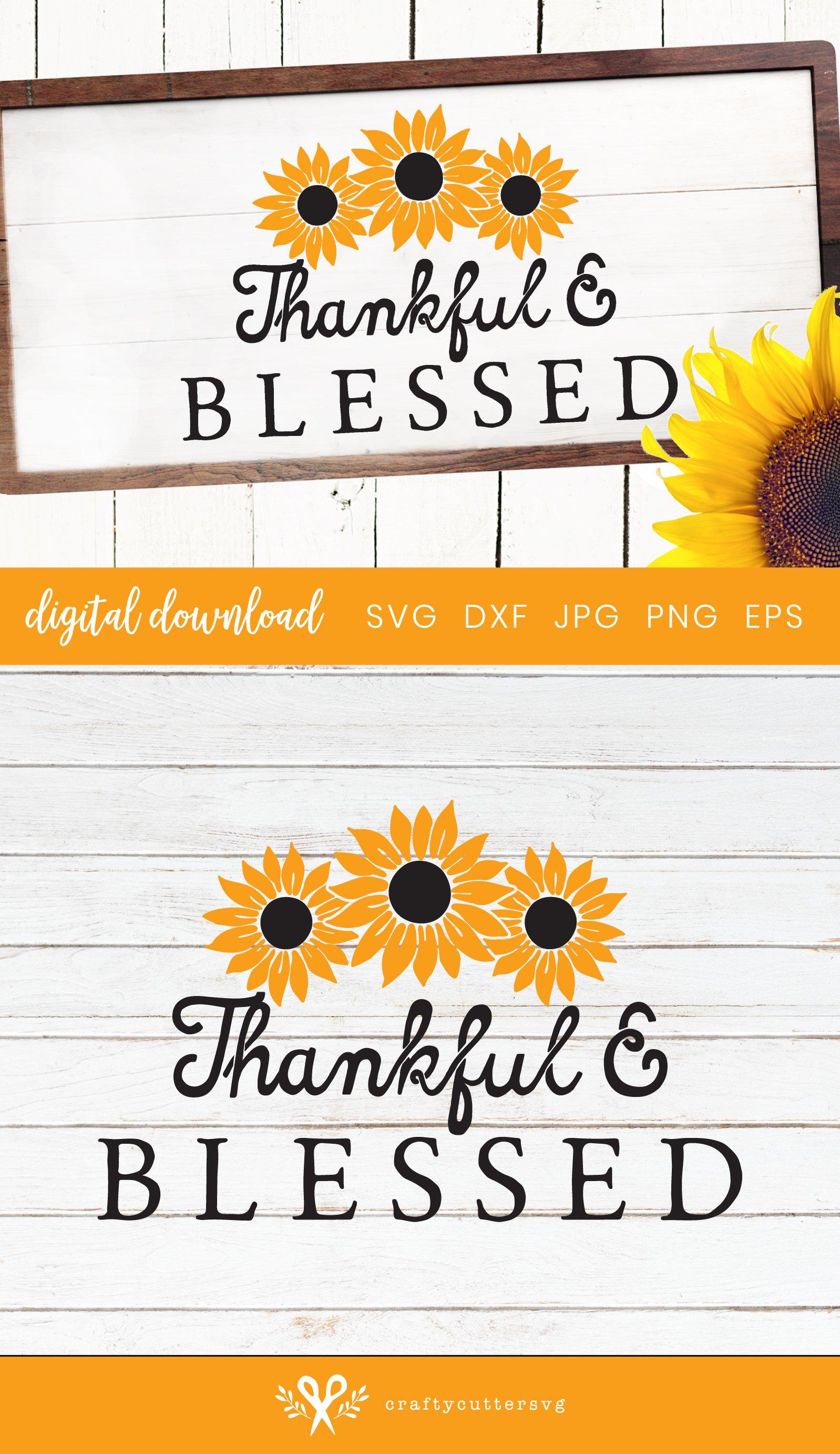 Sunflower Svg | Sunflower Farmhouse Sign Cut File example image 3