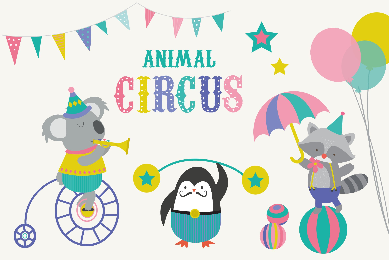 Clipart - Animals At The Circus / jungle animals | Cute animal clipart, Animal  clipart, Clip art