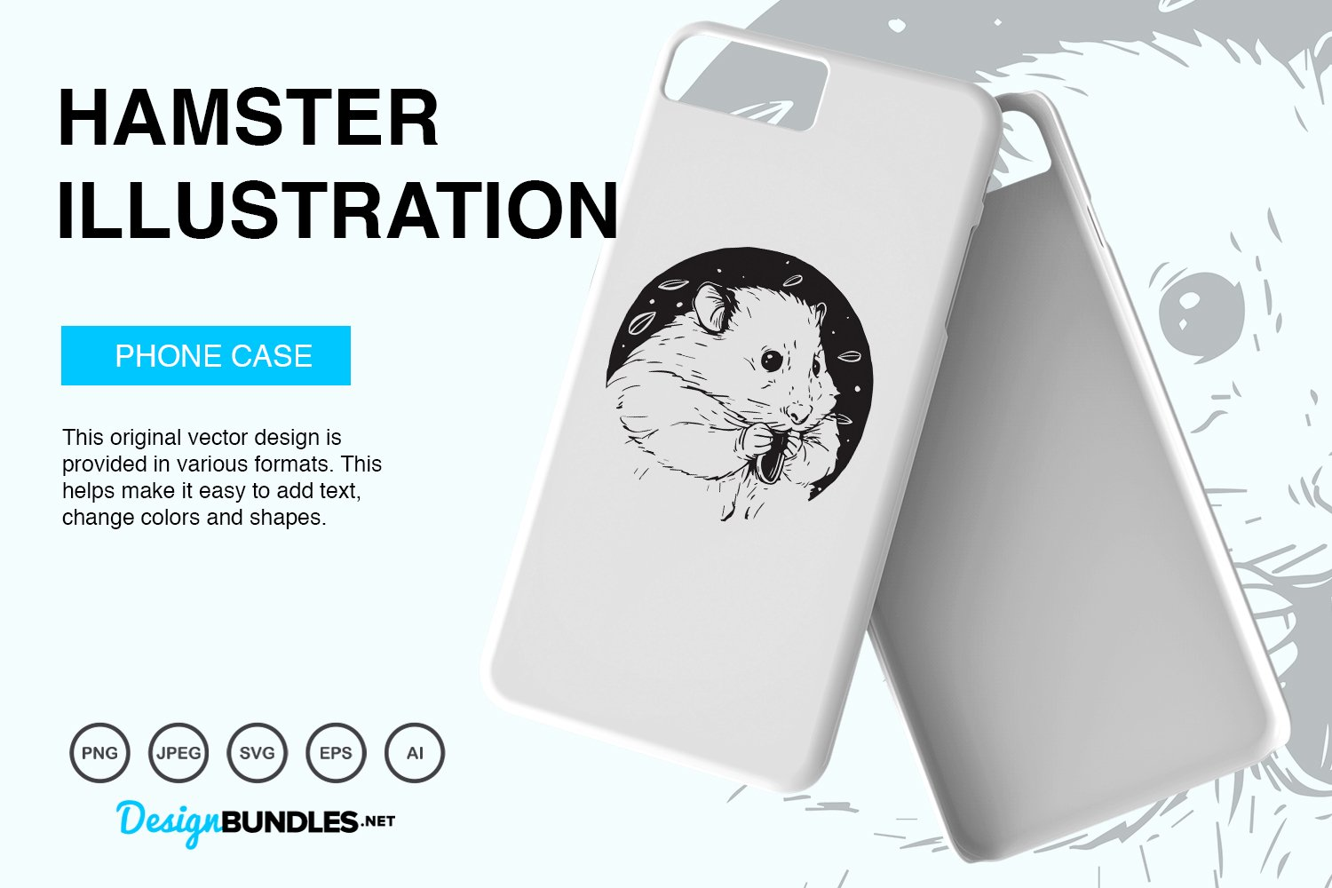 Hamster Vector Illustration example image 2