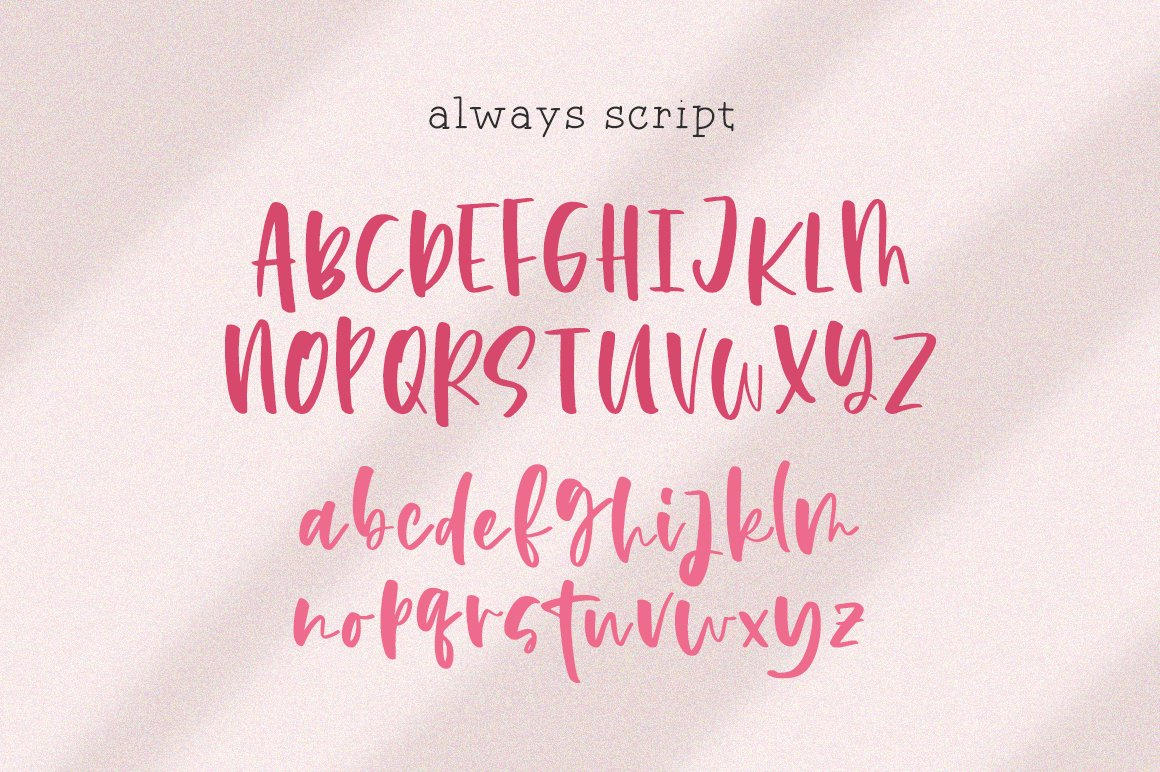Always Font Duo example image 8
