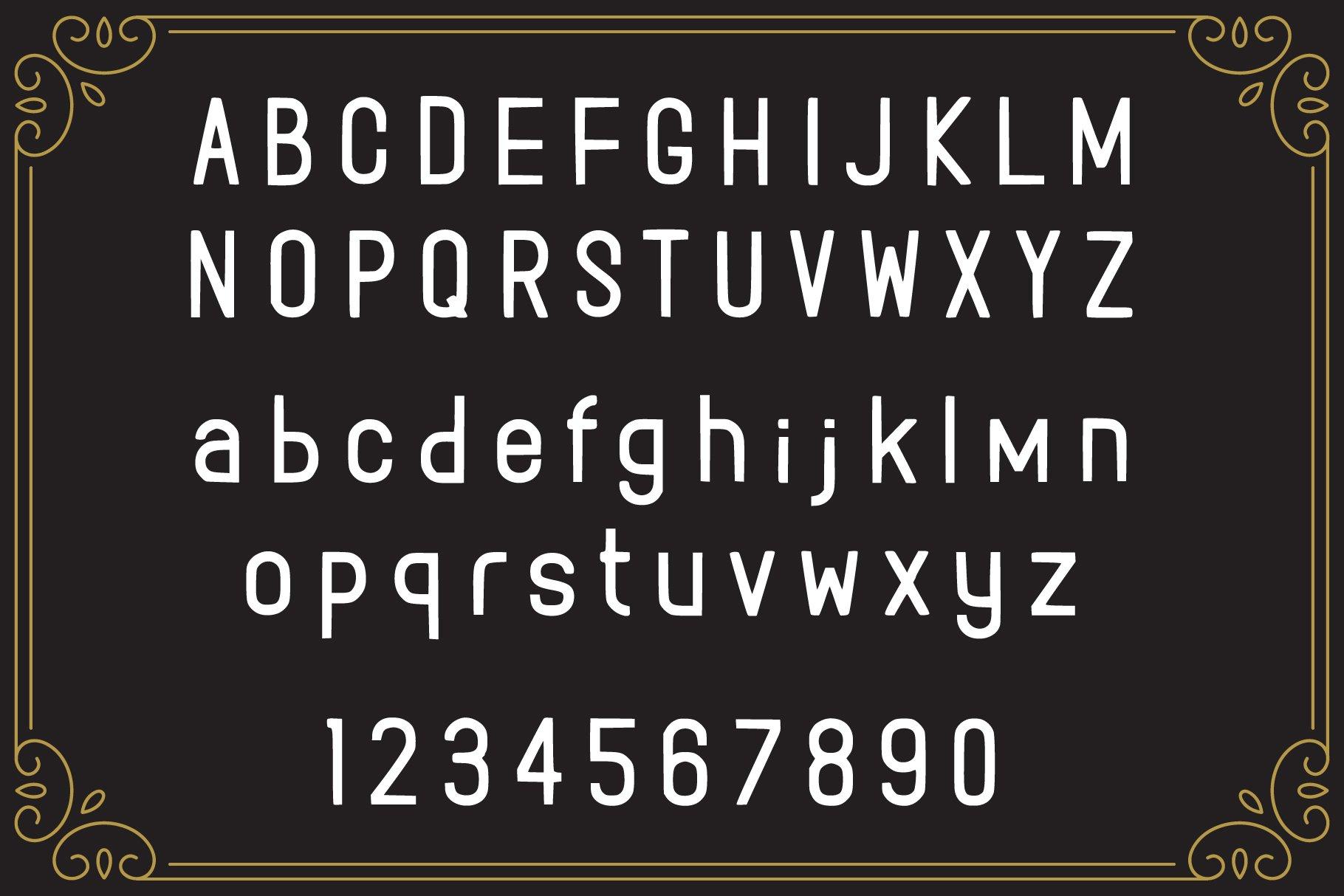 Rolando Vintage Font example image 2