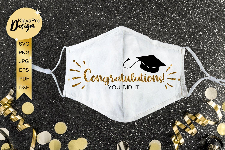 Congrats Grad Graduation  Door Hanger downloadable file printable template