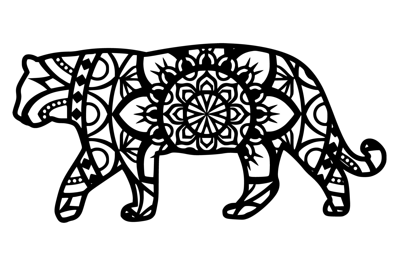 Download Tiger Mandala Svg (730784) | Cut Files | Design Bundles