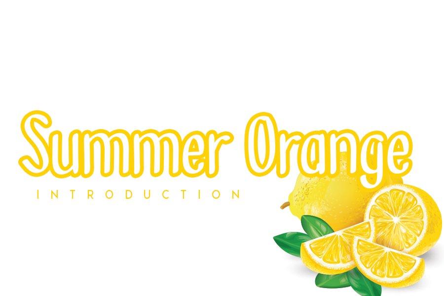 Summer Orange example image 1