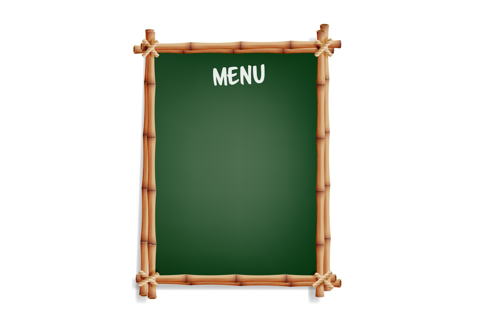 Menu Board. Cafe Or Restaurant Menu Board example image 1