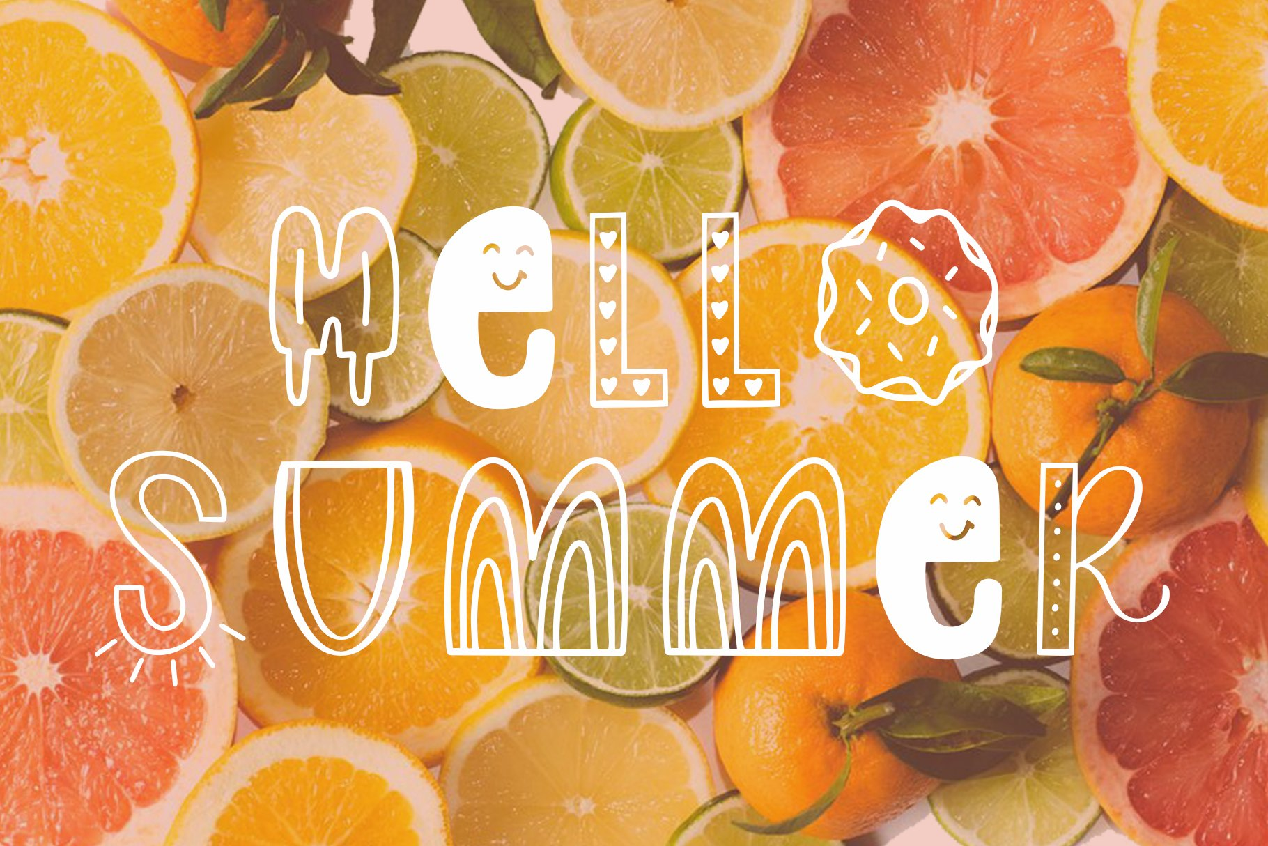 Slice of Summer, Symbols Font example image 4