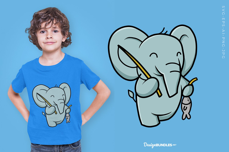 Elephant Fishing example image 1