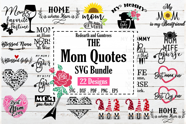 Download Funny Mom Quotes Svg Bundle Mum Saying Bundle Home Kitchen 845588 Cut Files Design Bundles