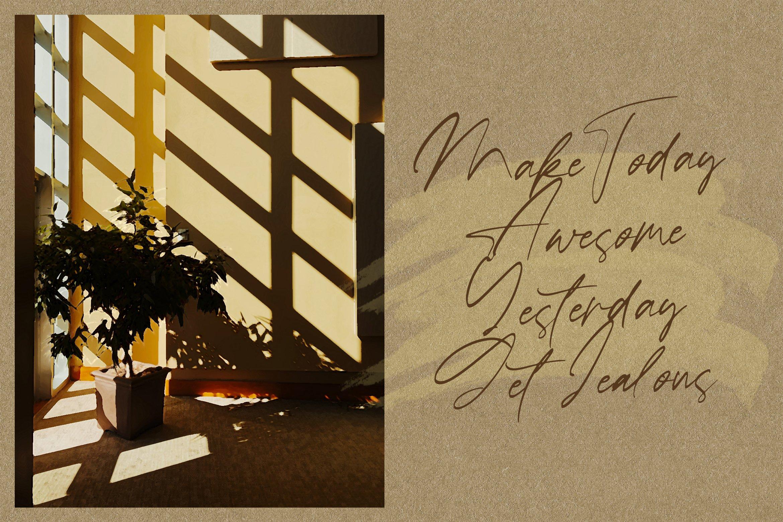 Ballerina - Signature Script Font example image 9