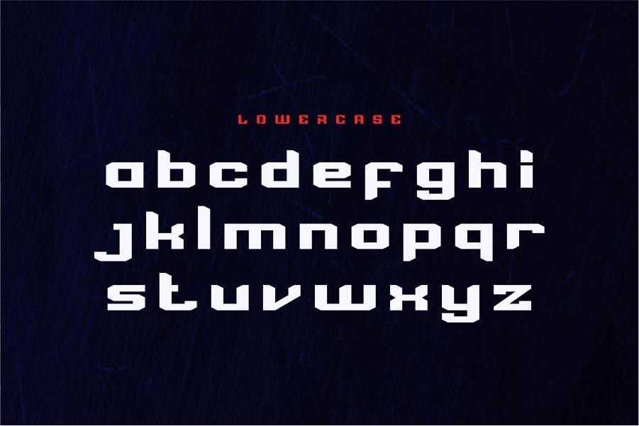 BADCUBES TYPEFACE example image 3