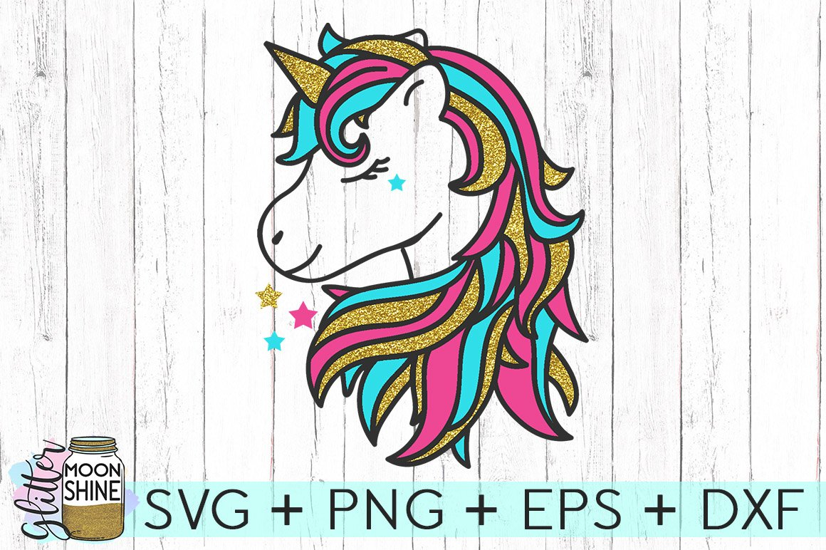 Magical Unicorn Svg Dxf Png Eps Cutting Files 74996 Svgs Design Bundles