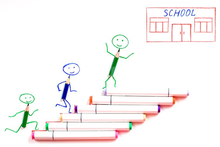 Back to school concept. example image 1