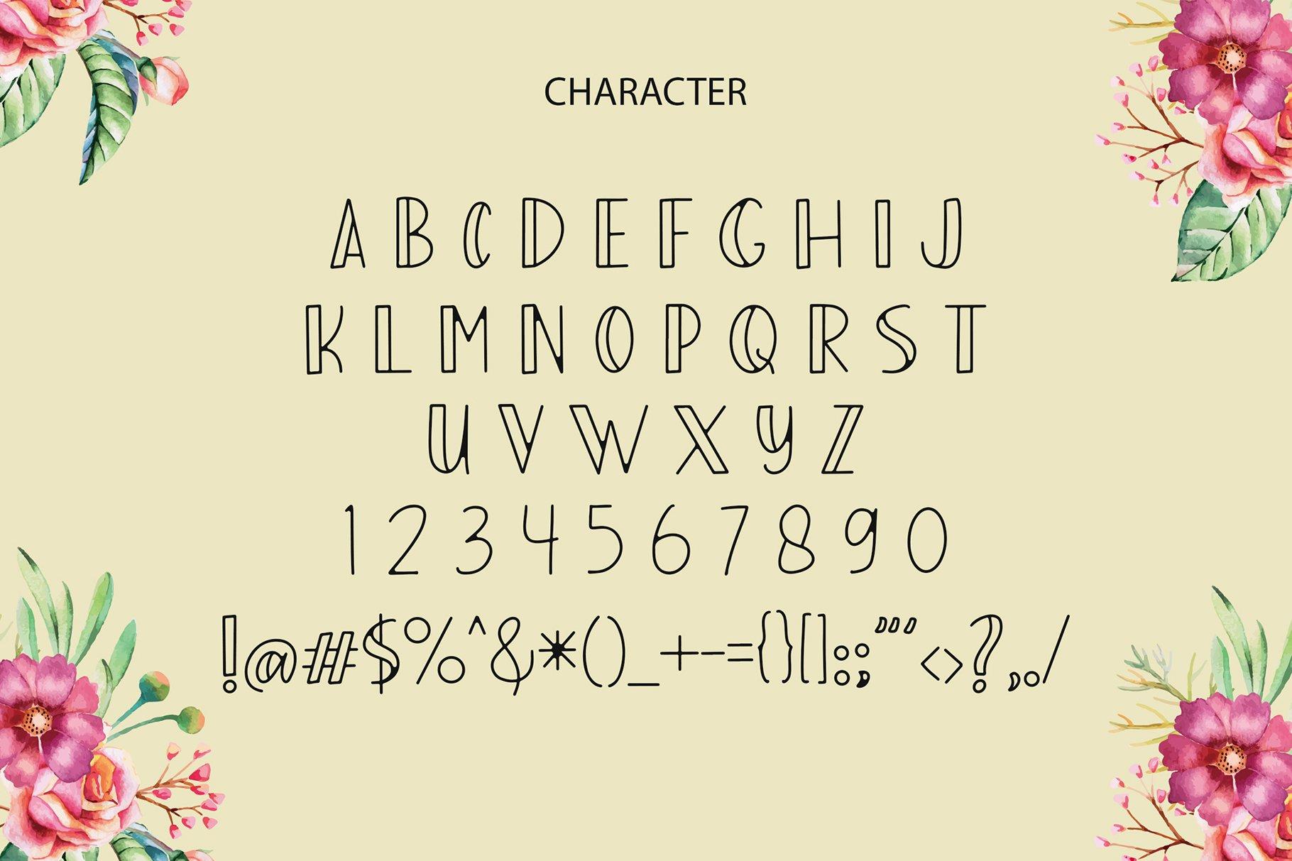 Adelah Display Font example image 6