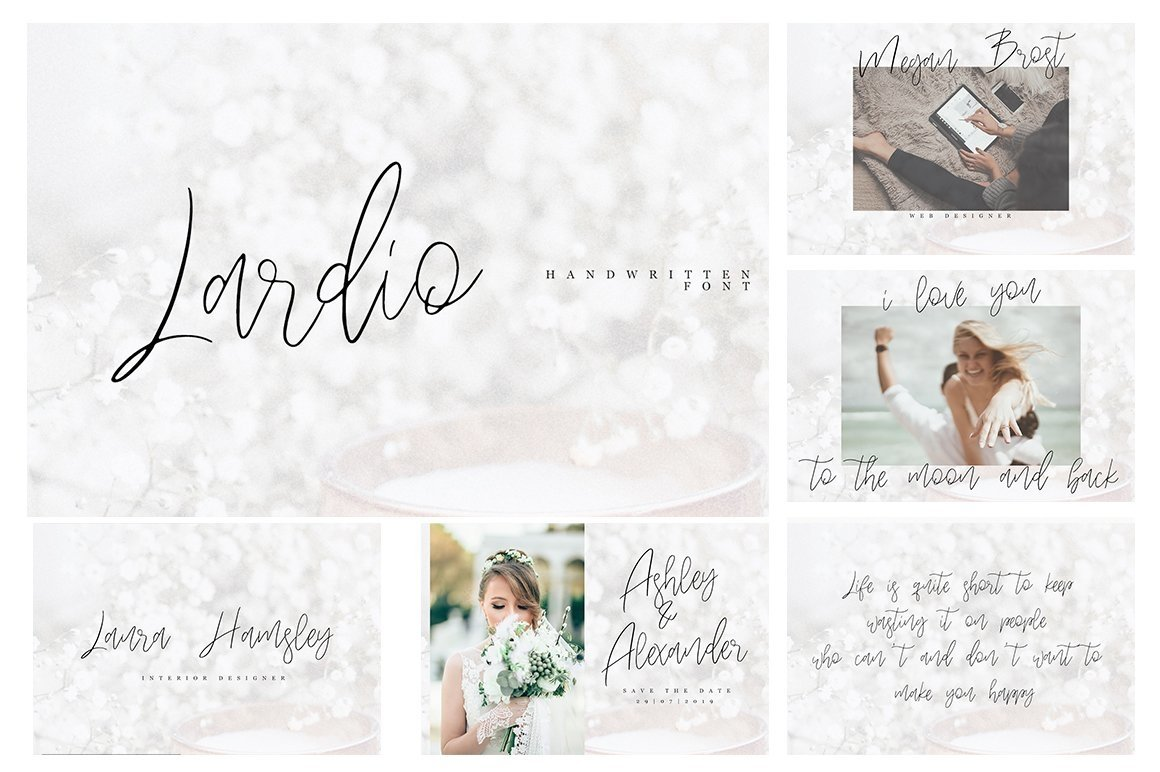 Font Bundle 70 in One example image 13