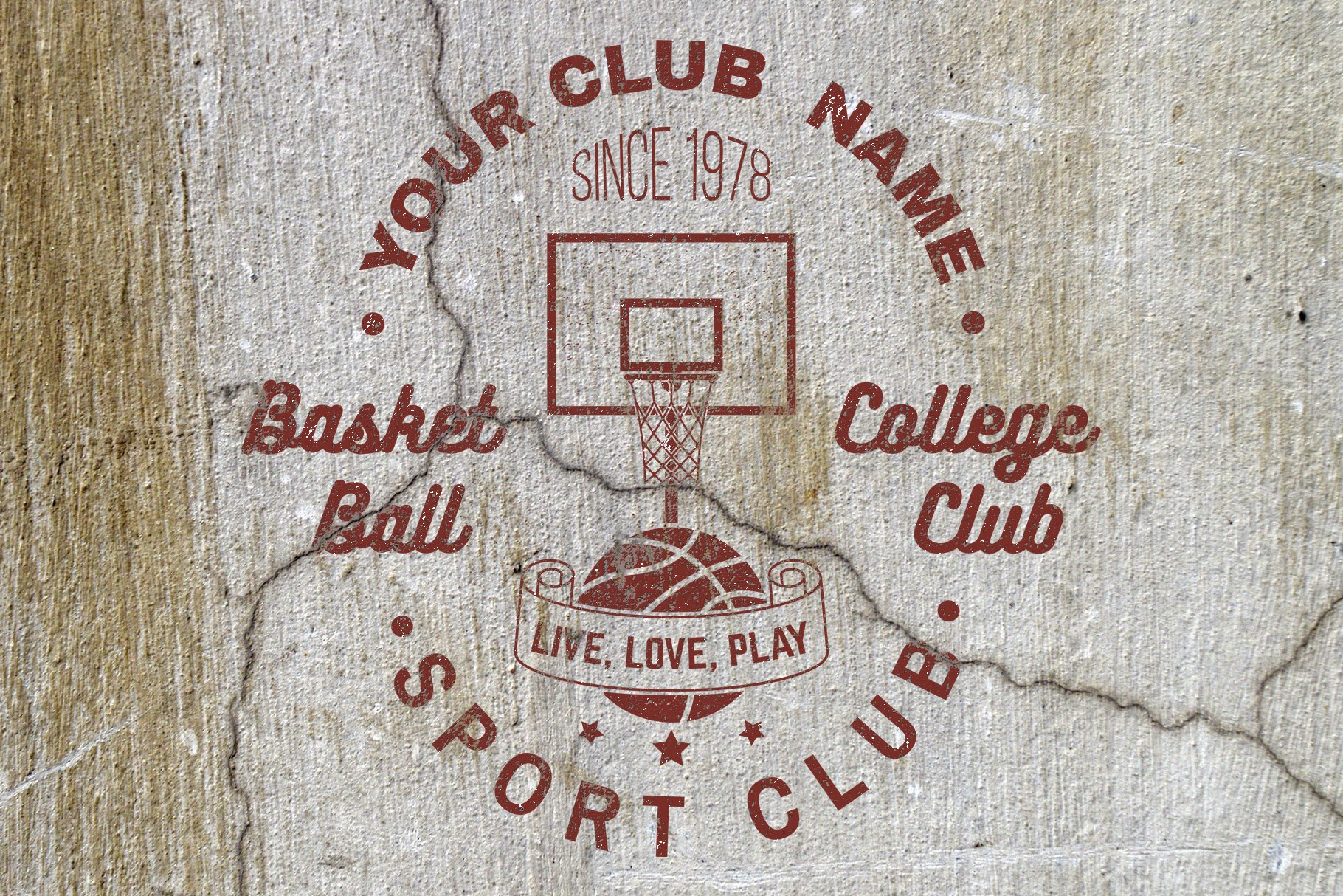 Basketball Club Badges and Labels example image 3