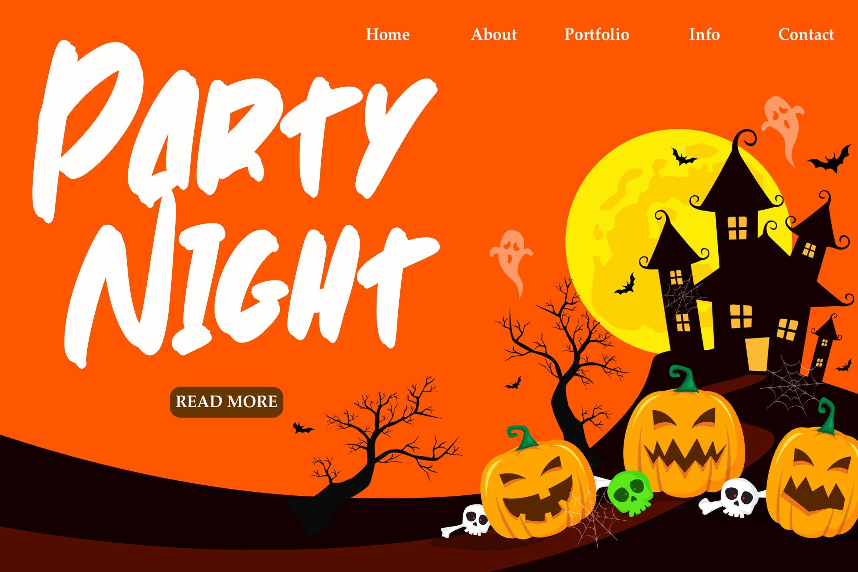 Spooky Brush - Hallowen Fonts example image 6