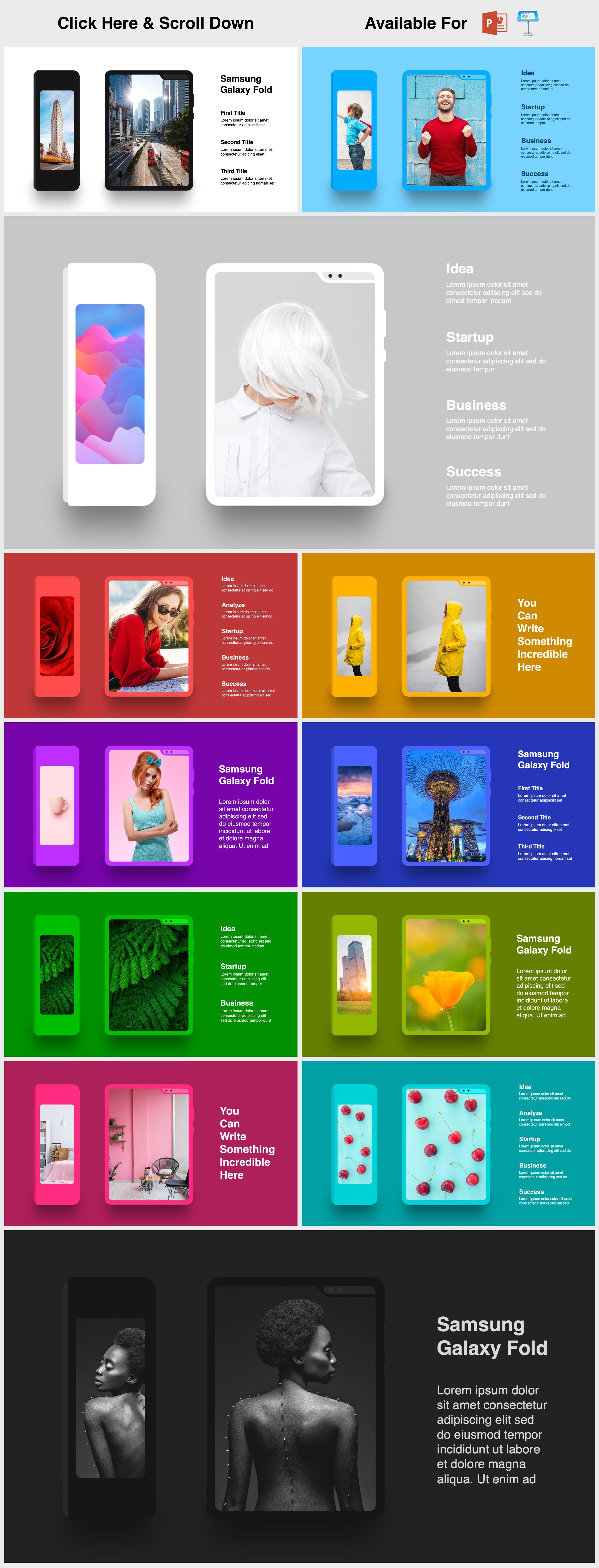 Animated Mockups Presentation Bundle. Infographic Templates. example image 21