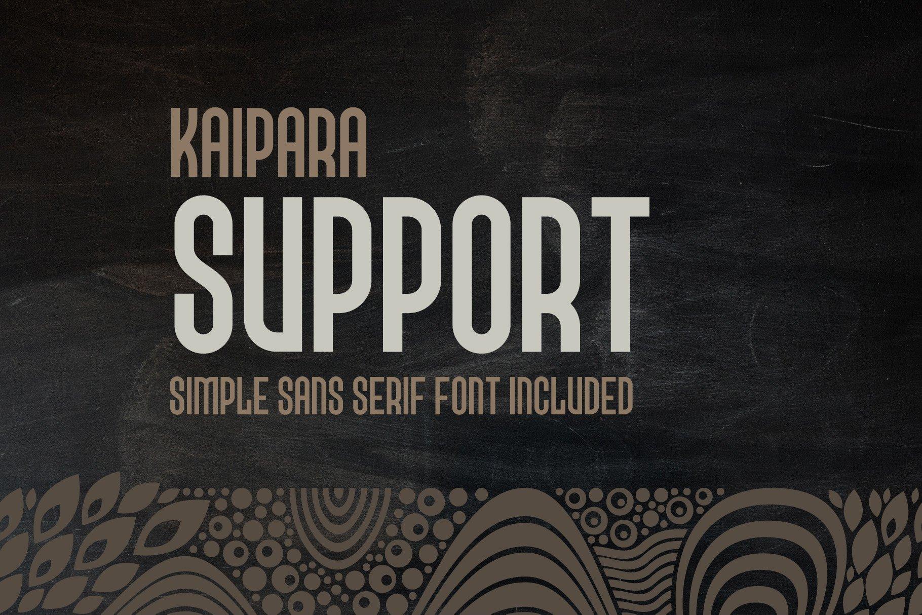 Kaipara Font example image 5
