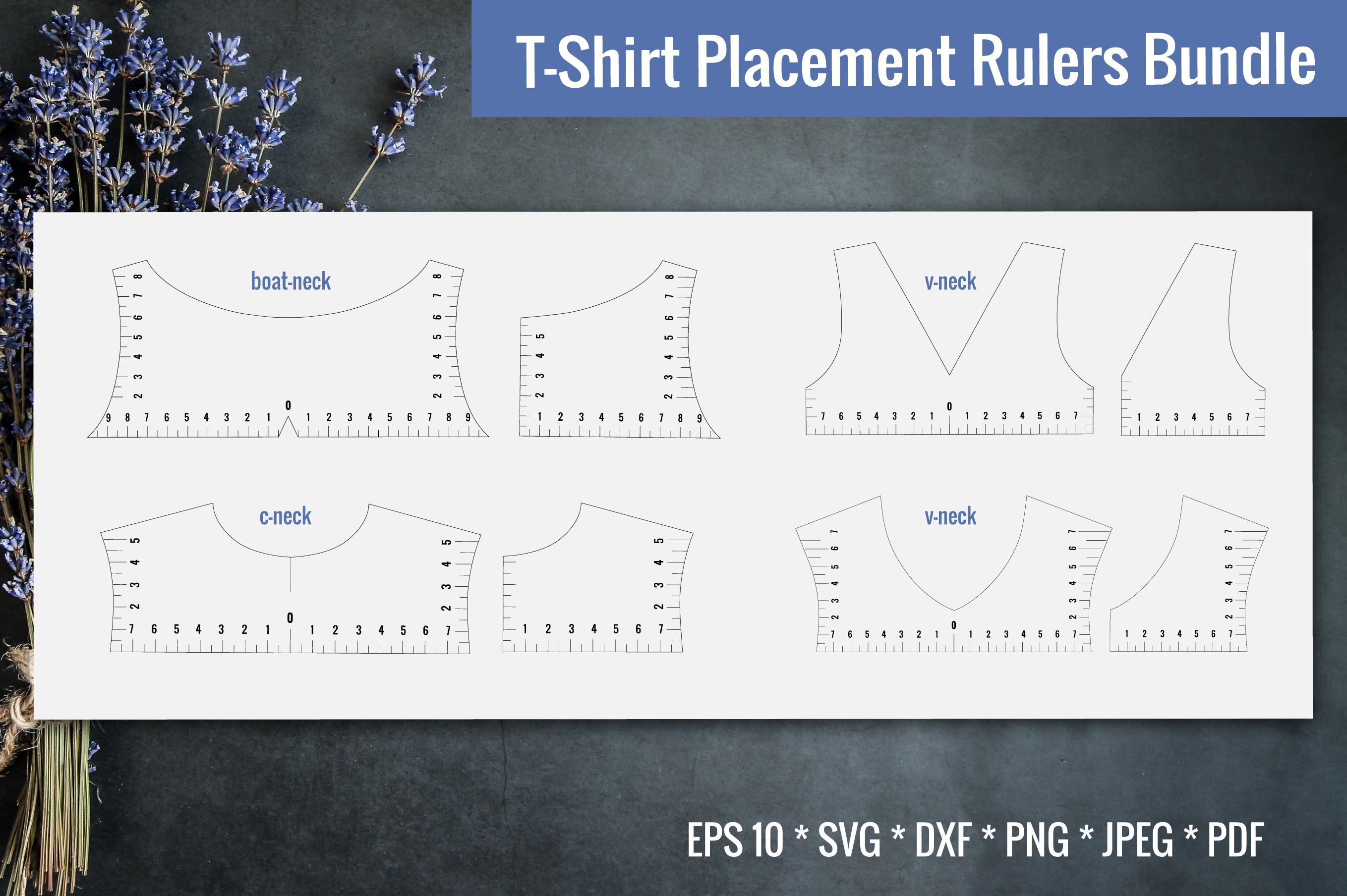 T Shirt Placement Ruler T Shirt Ruler Svg Bundle Svg 1022590 Cut Files Design Bundles
