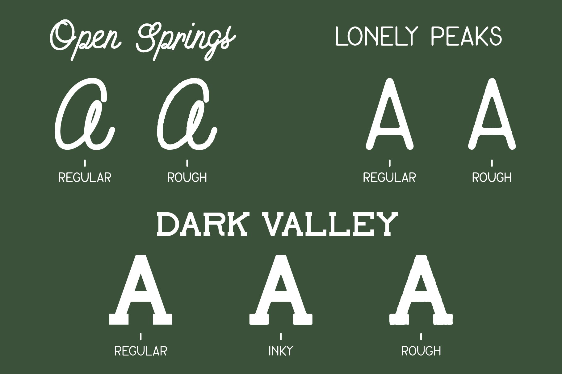 Open Springs - Font Trio example image 4