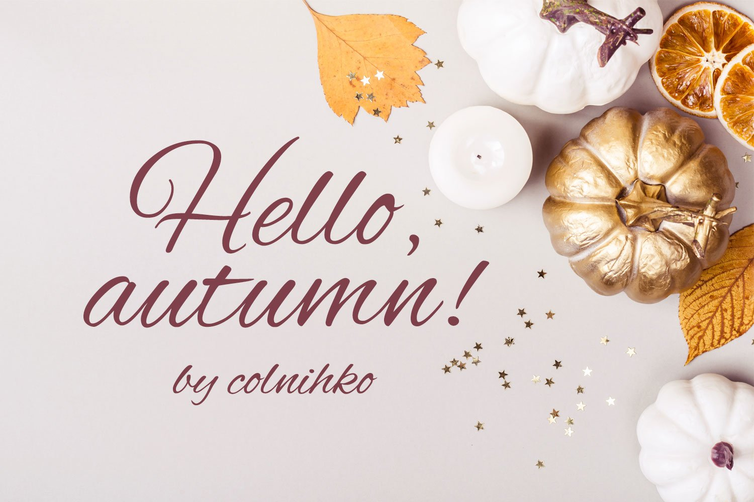 Hello, autumn! example image 2