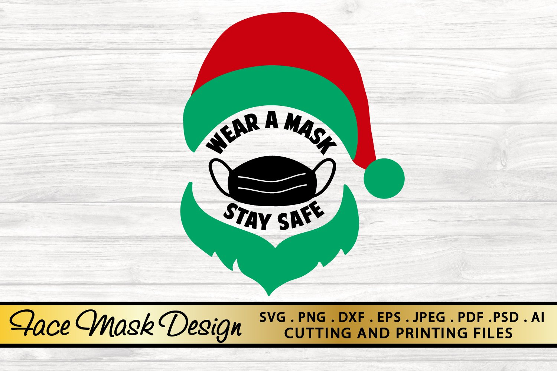 Face Mask Svg Png Eps Dxf Christmas Svg Santa Svg Mask Svg 813786 Illustrations Design Bundles