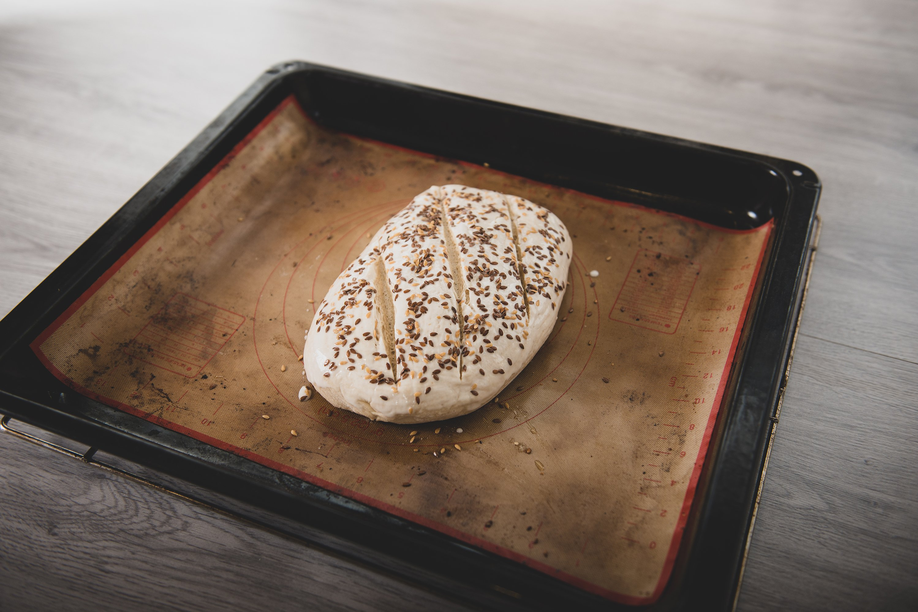 preparation of dough for craft bread example image 1