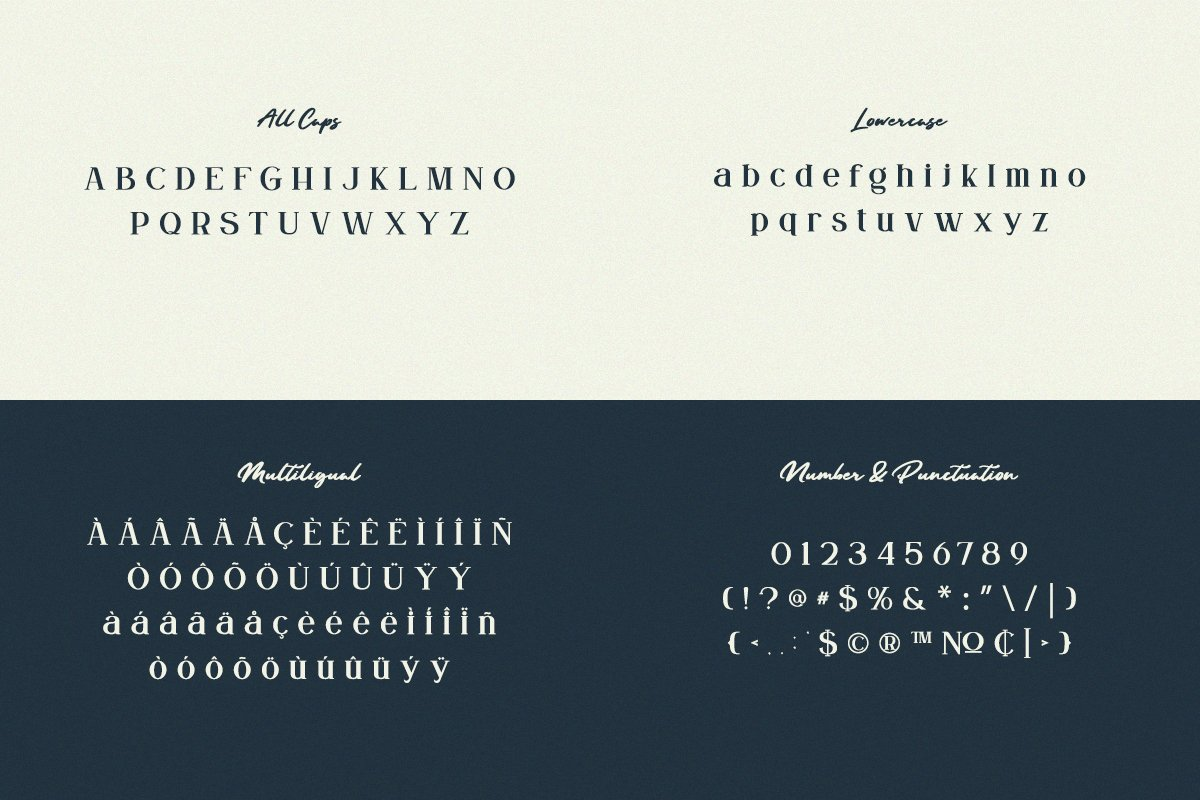 GROWN - Modern Serif example image 10