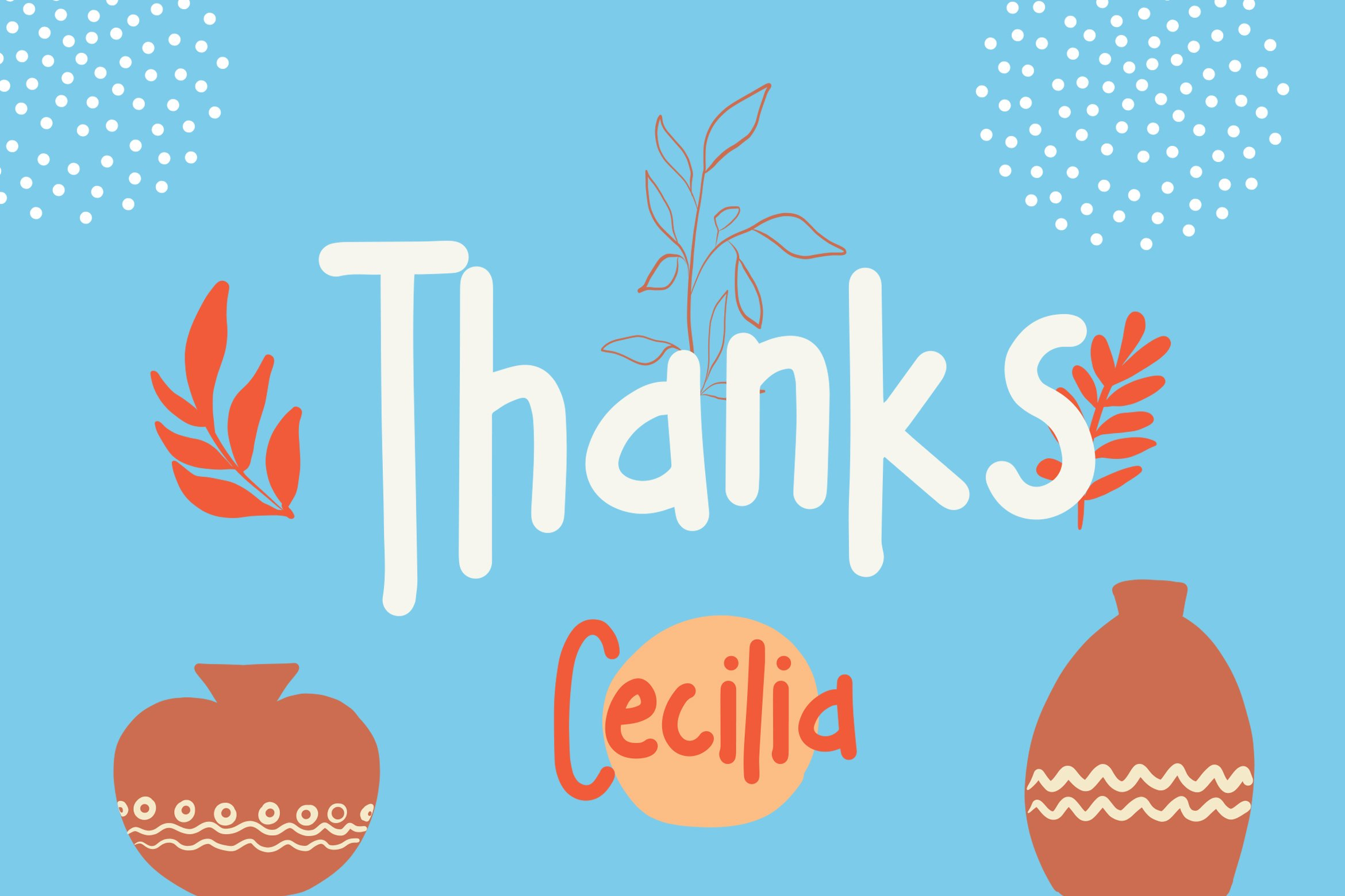 Cecilia - Childlish Fonts example image 4