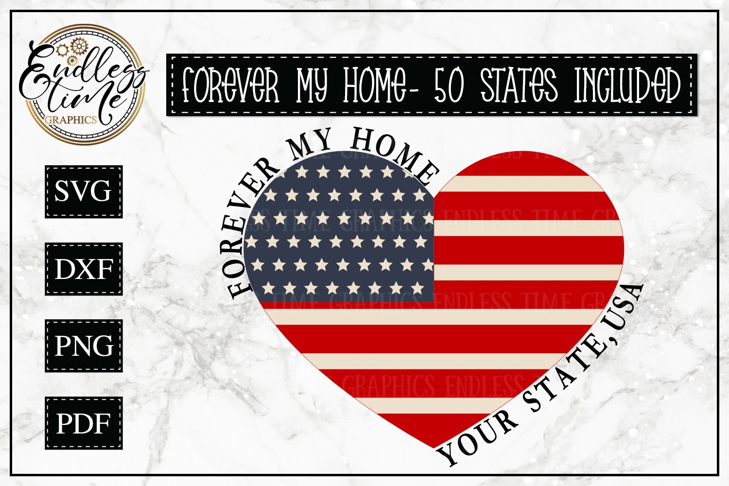Download Forever My Home Bundle All 50 States Included 243140 Cut Files Design Bundles