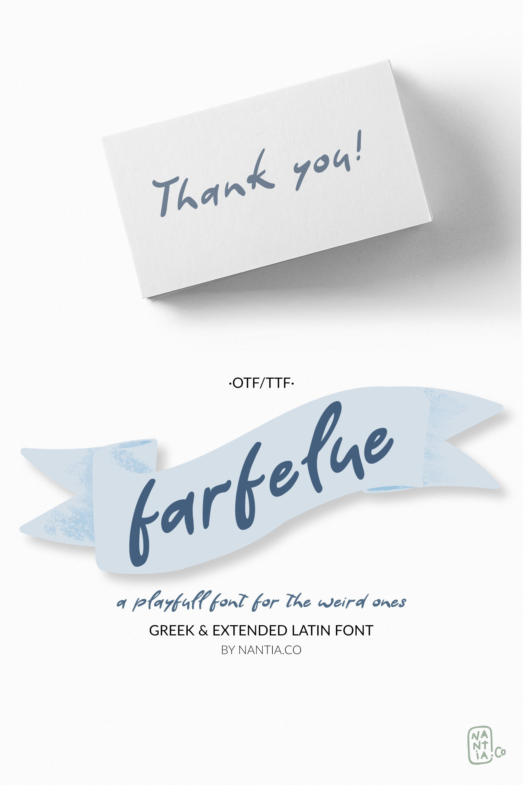 Farfelue, playful font for the weird ones! example image 7