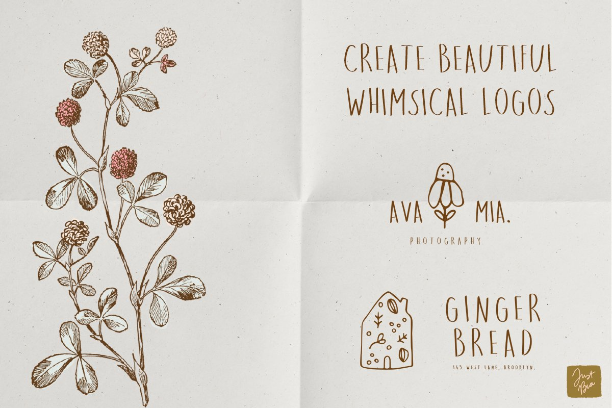 Sweet Dreams a hand-drawn wonky font example image 5