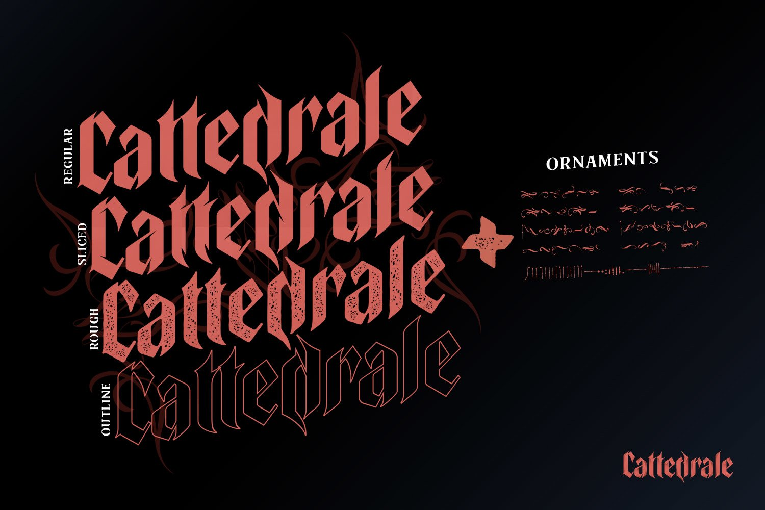 Cattedrale - Gothic Blackletter example image 4