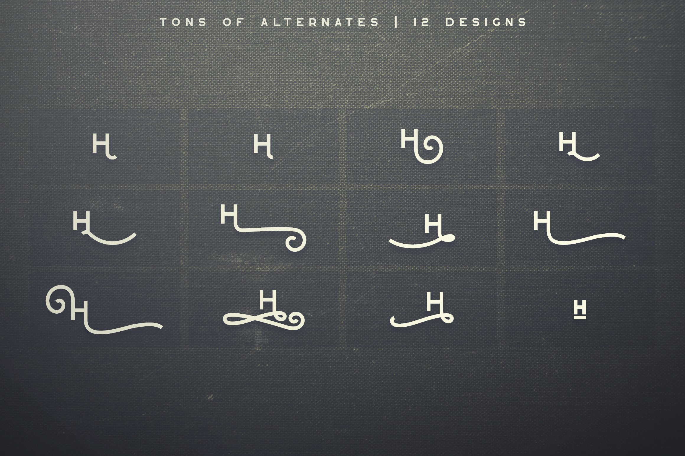 Greenth Display | Latin & Cyrillic example image 12