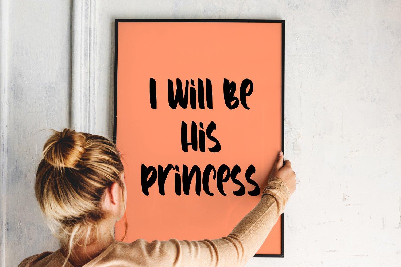 Lovely Prince - Lovely Handwritten Font example image 8