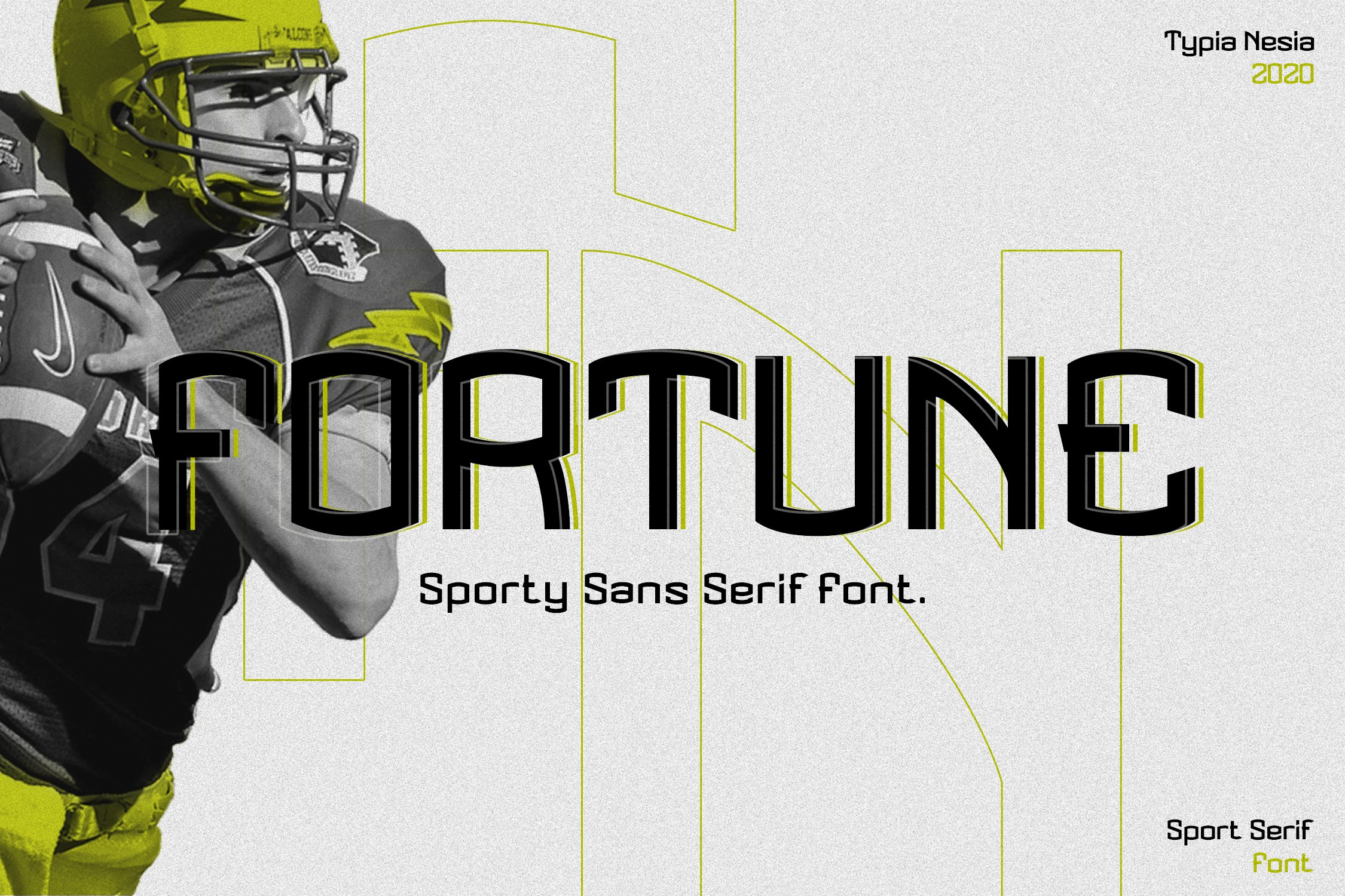 Fortune - Sport Font example image 1