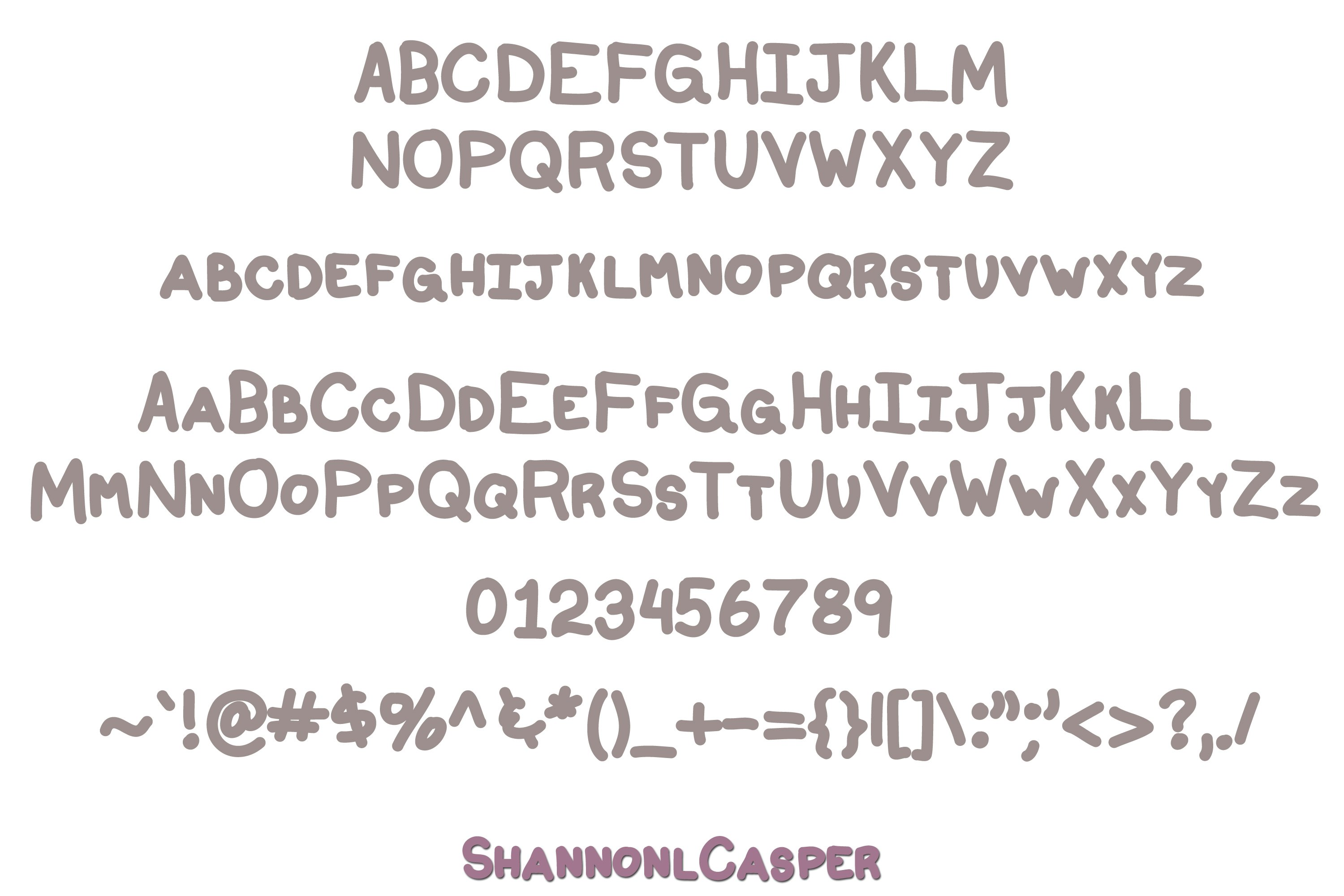 Sugar Fluff Fun Handwritten Font example image 2