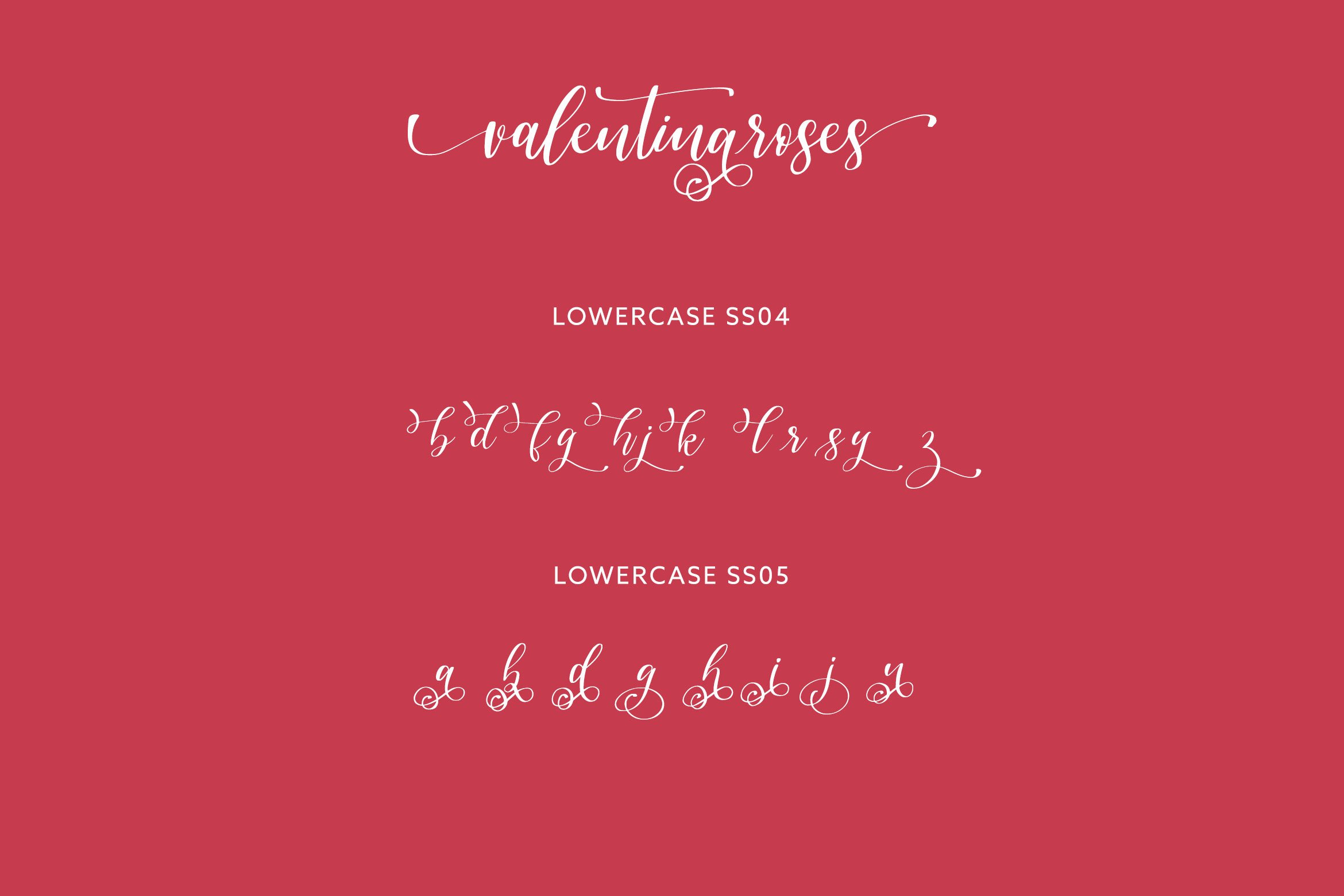 Valentinaroses Lovely Script Font example image 8