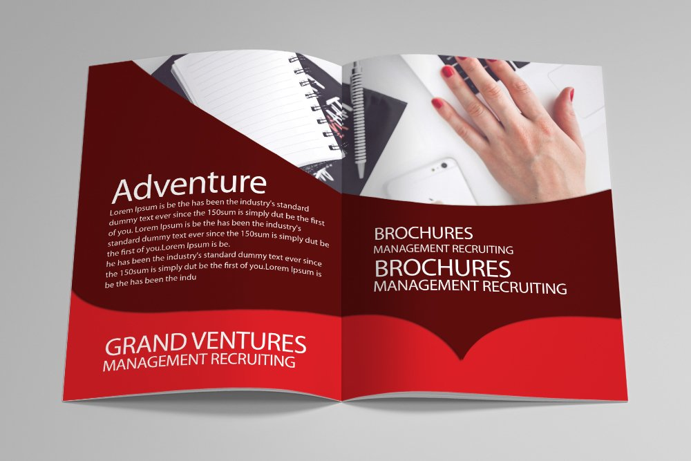 Business Portfolio Bifold Brochure 16 Pages example image 5