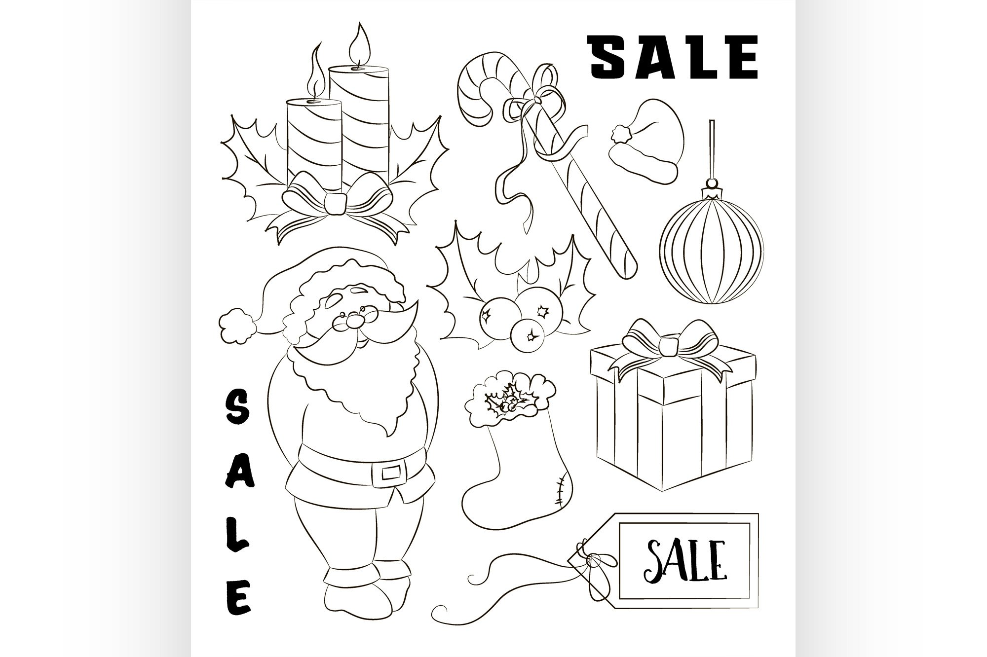 Christmas sale set example image 1