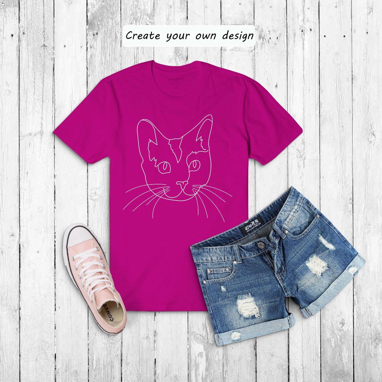 Cat Outline Sublimation Design - Modern Line Art example image 9