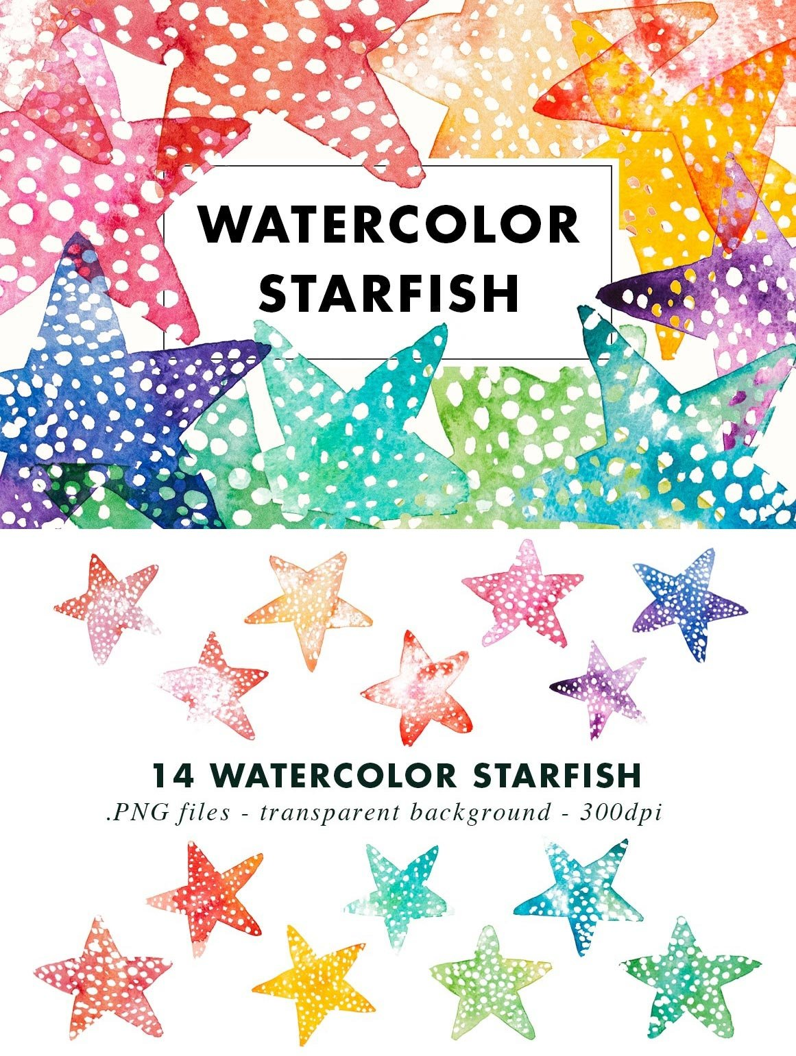 SALE | Watercolor Bundle | Best Sellers Clipart Illustration example image 7