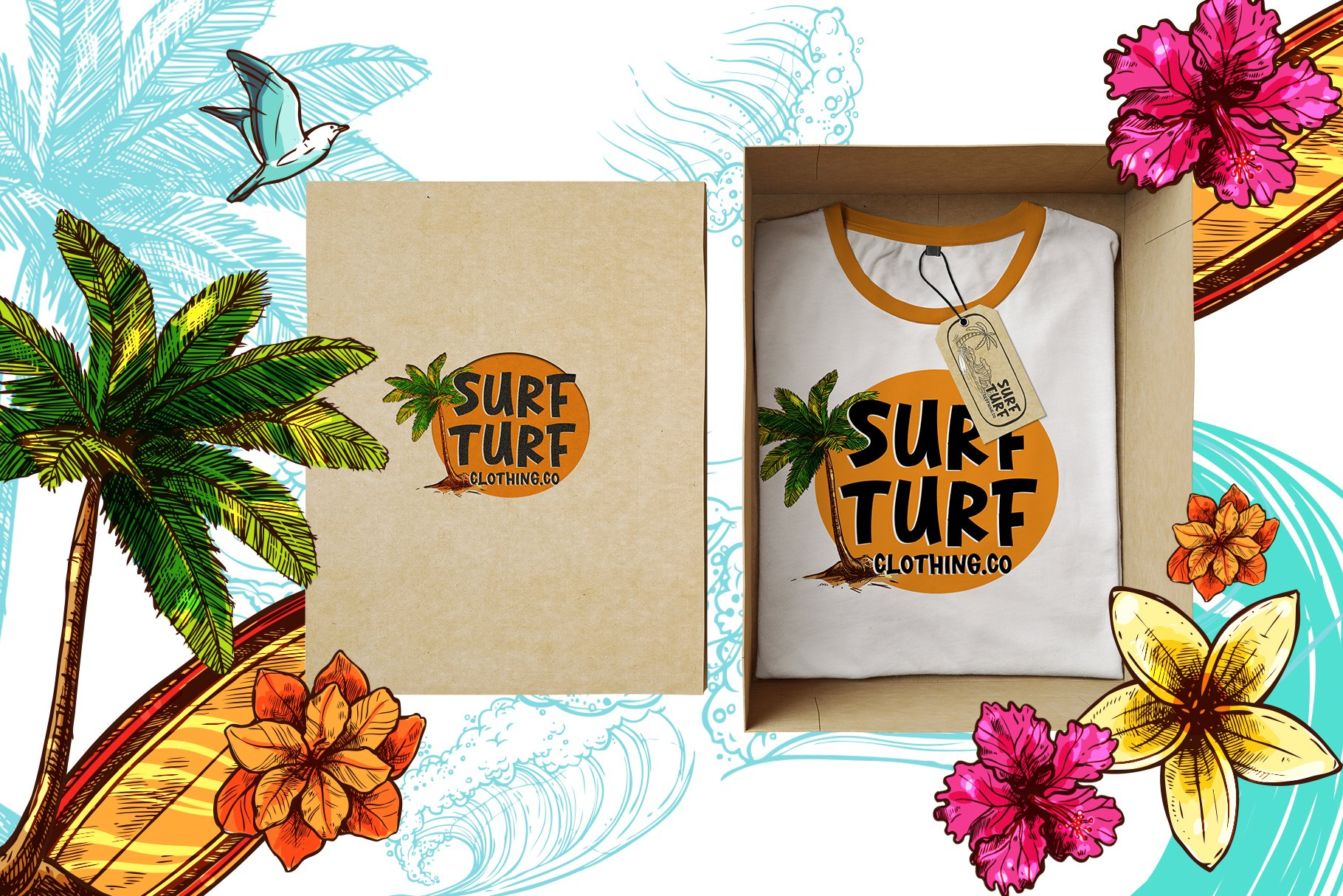 Lost Island - Summer Display Font example image 4