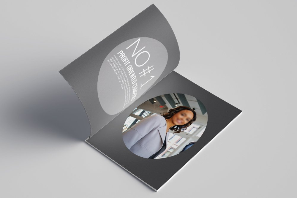 Business Corporate Bifold Brochure 16 Pages example image 4