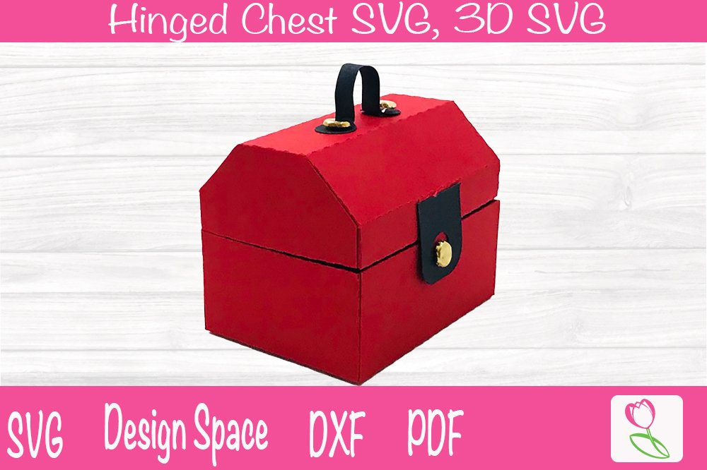 Download Toolbox Hinged Chest Svg For Cutting Machines