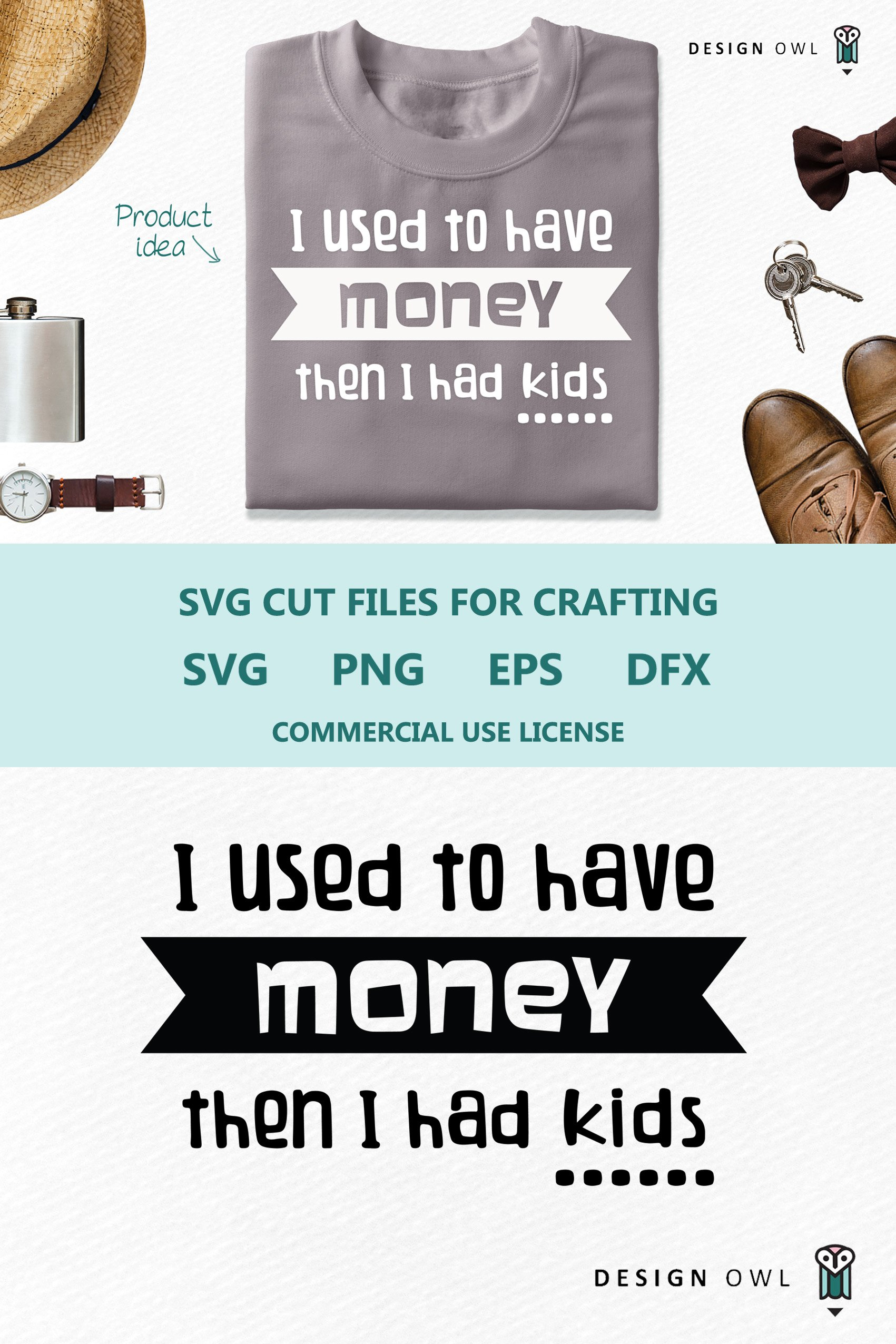 Download I used to have money - SVG cut file (259718)   Cut Files ...