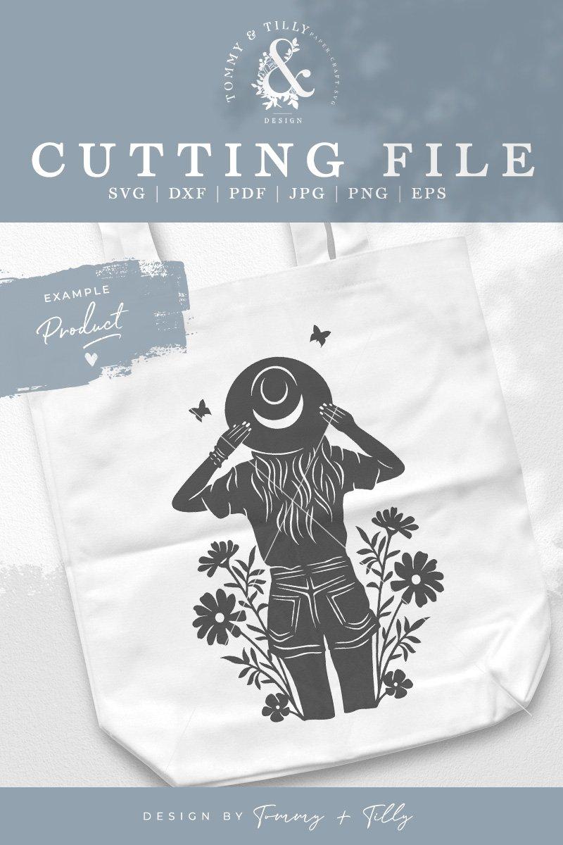Download Summer Girl No.1 - SVG DXF PNG EPS JPG PDF Paper Cutting ...